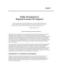 Public Participation in Regional Economic Development - Innovation ...