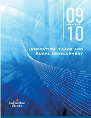 to obtain a copy of this report - Innovation, Business and Rural ...