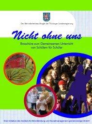 Broschüre zum Gemeinsamen Unterricht von ... - Die IBS GmbH