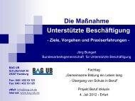 Vortrag BAG UB