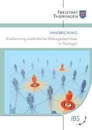Anerkennung ausländischer Bildungsabschlüsse in ... - Die IBS GmbH