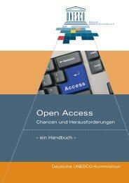 Open Access. Chancen und Herausforderungen
