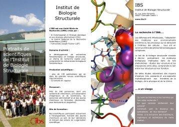 Formation - Institut de Biologie Structurale