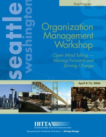 Organization Management Workshop - International Bridge, Tunnel ...