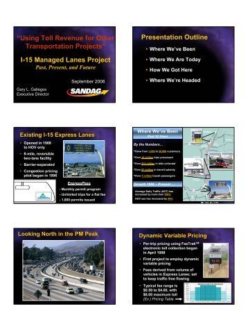 15 Managed Lanes Project