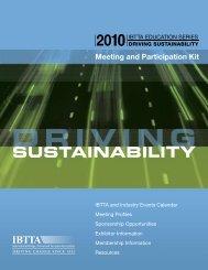 sustainability - International Bridge, Tunnel and Turnpike Association