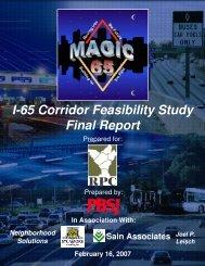 I-65 Corridor Feasibility Study Final Report - International Bridge ...