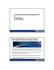 Vehicle Infrastructure Integration (VII)