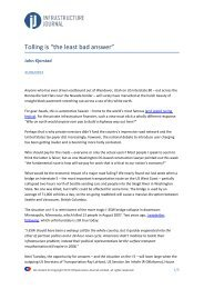 """Tolling is """"the least bad answer"""" - International Bridge, Tunnel and ..."""