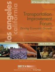 Transportation Improvement Forum - International Bridge, Tunnel ...