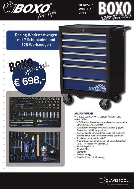 Boxo BX022A  Gelenk-Ratschen Ring  Maulschlüssel-Satz 15-tlg in Einlage