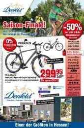 Sie sparen 500 - Fahrrad Denfeld