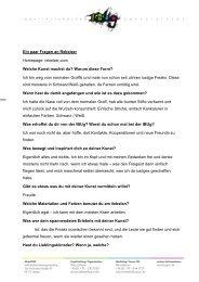 Ein paar Fragen an Rebelzer - IBUg