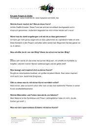 Ein paar Fragen an Zester - IBUg