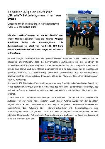 Allgaier Pressetext - B + R Autohaus