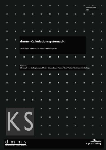 Leseprobe Kalkulationssystematik - iBusiness