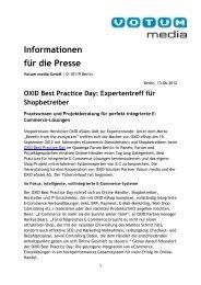 OXID Best Practice Day - iBusiness