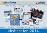 iBusienss Mediadaten 2014 - iBusiness