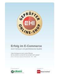 Erfolg im E-Commerce - iBusiness