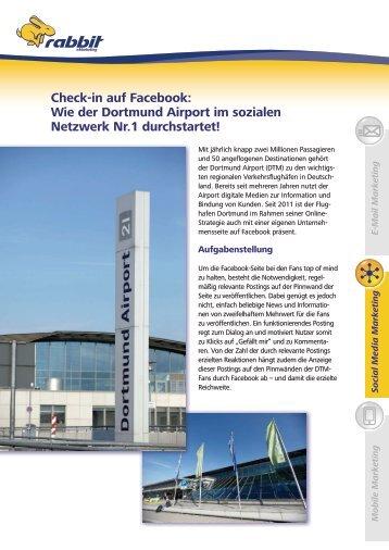 Check-in auf Facebook: Wie der Dortmund Airport im ... - iBusiness