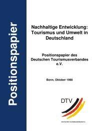 Nachhaltige Entwicklung: Tourismus und Umwelt in Deutschland