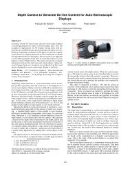 Depth Camera to Generate On-line Content for Auto-Stereoscopic ...