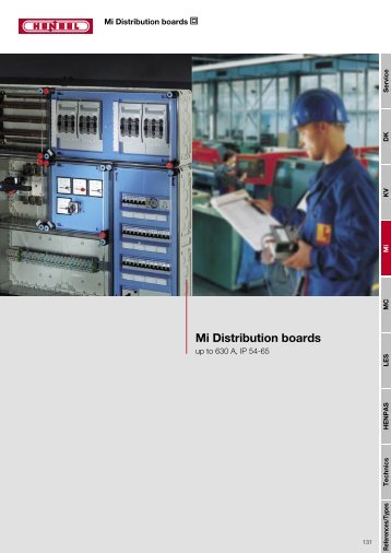 Mi Distribution boards - IC SYSTEMS automatika
