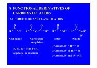 8 FUNCTIONAL DERIVATIVES OF CARBOXYLIC ACIDS