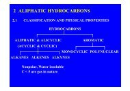 2 ALIPHATIC HYDROCARBONS