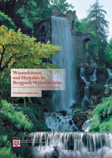 Wasserkünste und Herkules im Bergpark Wilhelmshöhe
