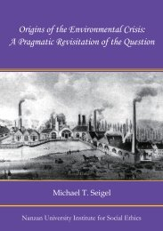 Origins of the Environmental Crisis: A Pragmatic Revisitation of the ...