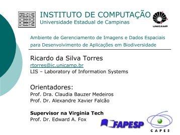 Slides sobre aplicação de CBIR em sistema de informação de ...