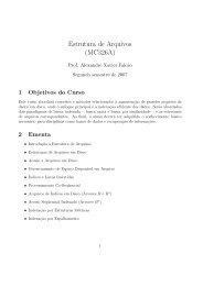 Notas de aula do professor Alexandre X. Falcão.