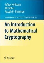 Undergraduate Texts in Mathematics