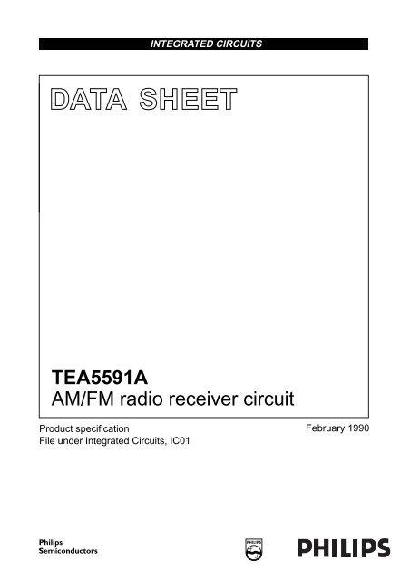 AM/FM radio receiver circuit