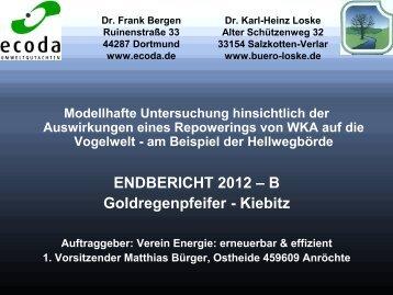 Dr. Karl-Heinz Loske, Ing.-Büro