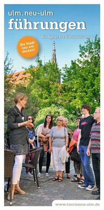 führungen - Tourismuszentrale Ulm/Neu-Ulm