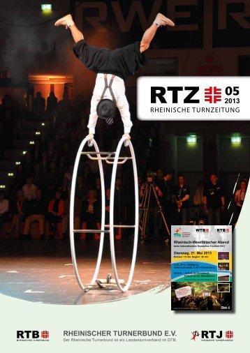 2013 RHEINISCHER TURNERBUND E.V. - RTB