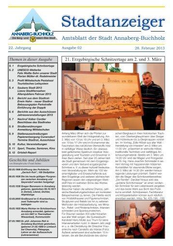Stadtanzeiger - Annaberg-Buchholz