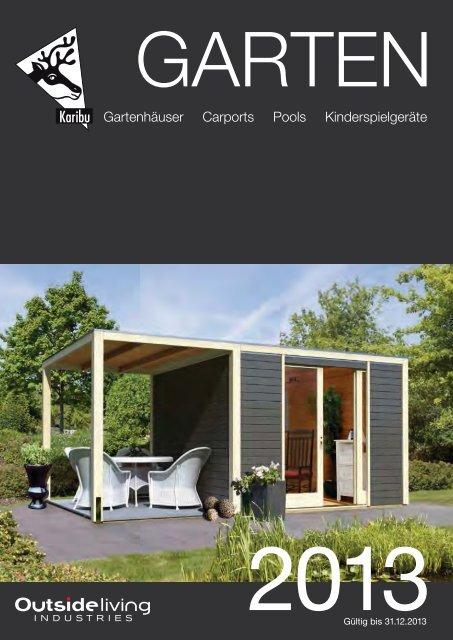 Katalog Karibu Garten 2013 Teil 1 - Beinbrech Holz- und ...