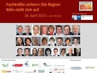 Programm Demografiekongress - bildung.koeln.de - Köln