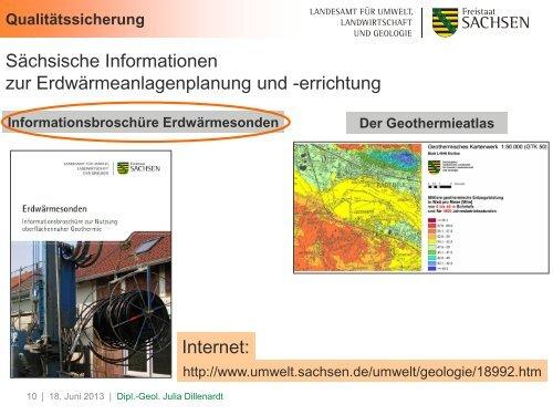 Nutzung und Potentiale der oberflächennahen Geothermie in ...