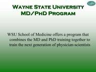 Biomedical PhD Programs - ICAE