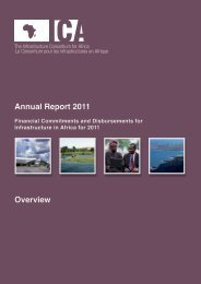 ica annual report 2011-overview - The Infrastructure Consortium for ...