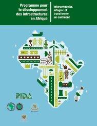 Programme pour le développement des infrastructures en Afrique
