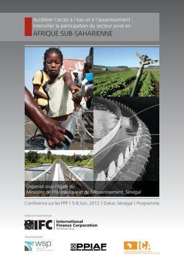 afrique sub-saharienne - The Infrastructure Consortium for Africa