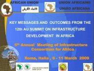 key messages and outcomes from the 12th african union summit on ...