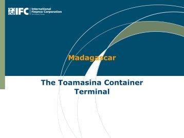 madagascar: the toamasina container terminal