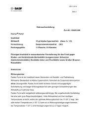 GA Fastac Forst - BASF Pflanzenschutz Deutschland