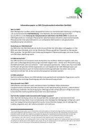 Informationspapier zu CMS (Cytoplasmatisch-männliche ... - BNN